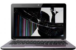 تعمیر LCD و LED شکسته لپ تاپ سونی