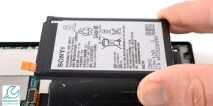 تعویض باتری گوشی سونی