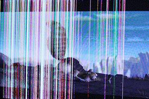 تعمیر خرابی تصویر تلویزیون سونی