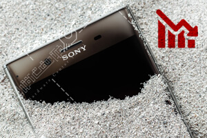 کاهش تولید موبایل سونی