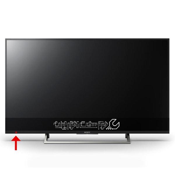 چراغ جلوی تلویزیون sony