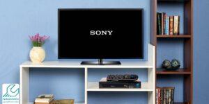 خاموش روشن شدن تلویزیون سونی