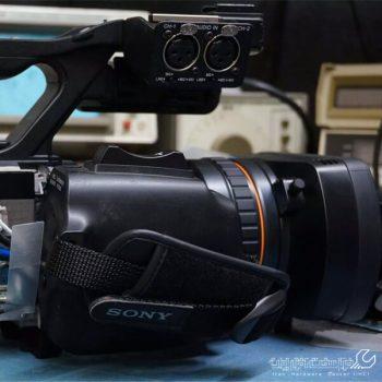 تعمیر لنز دوربین فیلم برداری سونی