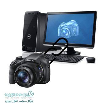 متصل کردن دوربین سونی به کامپیوتر
