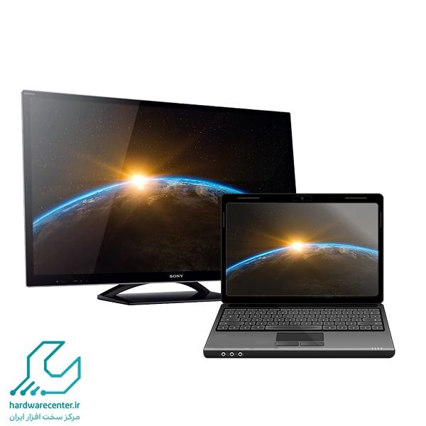 آموزش اتصال لپ تاپ به تلویزیون