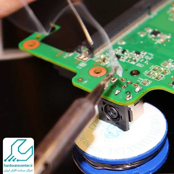 تعمیر مدار شارژ لپ تاپ سونی