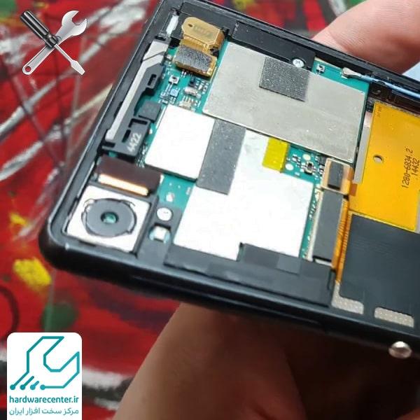 تعمیر دوربین موبایل سونی